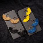 Drop Tassel Earrings Statement Bohemian Boho Earrings