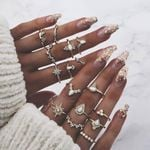 Bohemian Vintage Gold Color Boho Ladies Party Jewelry Accessories