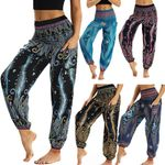 Pants Casual Loose Hippy Trousers Baggy Boho Aladdin
