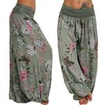 High Waist Pants Long Harem Pants Loose Trousers Aladdin