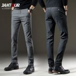 Casual Elastic Long Trousers Cotton Pants