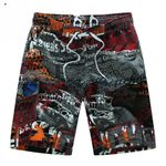 Beach  Breathable Quick Dry Loose Casual Hawaii Printing Shorts