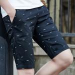 Cotton New Casual Elastic Waist Fashion Beach Shorts
