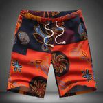 New Fashion Printing Boutique Cotton and Hemp Beach Shorts