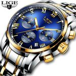 New Luxury Chronograph Sports Waterproof Watches