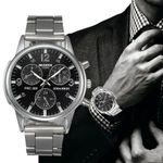Fashion Crystal Stainless Steel Analog Quartz Wrist Watches