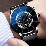 Relogio Masculino Stainless Steel Calendar Sports Watches