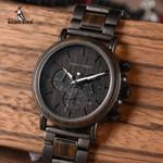 Relogio Masculino Top Brand Luxury Stylish Chronograph Wood Watches