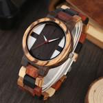 Antique Vintage Ebony Adjustable Wood Watches