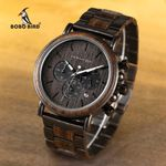 Stopwatch Show Date Create Gift  Wood Watches