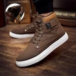 Ankle sneakers 2019 fashion lace-up solid winter Boots
