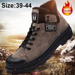 Leather Waterproof Chaussure Casual Boots