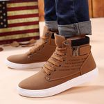 Ankle warm Lace-up arrival fashion flock plush Boots