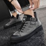 Fashion PULeather Waterproof Chaussure Casual Boots