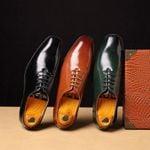 Fashion Plus Leather Business British Wind Oxford Shoes