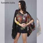 Chiffon Blouses Floral Printed Casual Boho Bohemian Blouse & Shirts