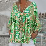 Vintage Blouses Fashion Long Sleeve Boho Bohemian Blouse & Shirts