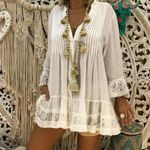 Cover Vintage Hippie Baggy fashion Boho Bohemian Blouse & Shirts