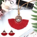 Handmade Weave Tassel Jewelry Fringed Boho Bohemian Sweaters