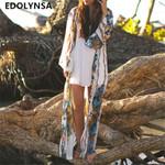 Beach Cardigan Plus Size Long Sleeve Boho Bohemian Kimonos