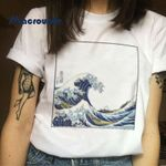 The Great Femme Casual Tops Tee Vintage Women T-shirts