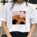Dropshipping vintage Tops clothes streetwear Women T-shirts