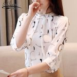 Fashion clothing shirts Chiffon Women Blouses