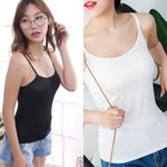 Slim Vest Sleeveless Basic Camisole Shirt Tank Top & Camis