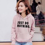 Letter Pullovers Long Sleeve Casual Sweatshirts Hoodies