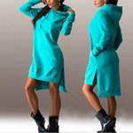 Fashion Loose Casual Full Sleeve Pullover Fleeces Sweatshirt