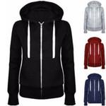 Classic Hoodies Overcoat New Zipper Hooded Sweatshirt
