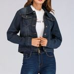 Cowboy Bomber Short Streetwear Stretch Jeans Denim Jackets