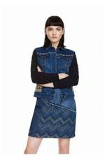 Sweater sleeve elastic fabric Denim Jackets