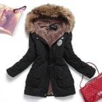 Thickening Cotton Outwear Parkas Fashion Jackets