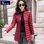 Warm Basic Slim Brand Cotton Parkas New Casual Long Sleeve Jackets
