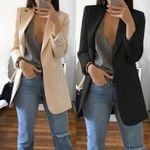 New Arrival Long Sleeve Cardigan Slim Suit Coat Jackets