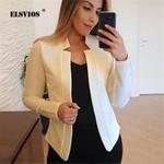 Solid Coat OL Elegant Fashion Work Bussiness Jackets