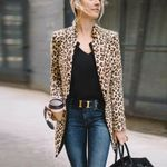 Fall Fashion Leopard Printed Sexy Wind CardiganCoats