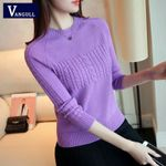Large Size Knitting New Knitting Elasticity Pullover Sweaters
