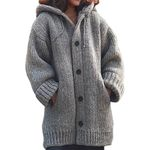 Solid Oversize Cardigan Knited Outwears Casual Fashionable Sweaters