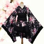 Anime Costume Traditional Print Vintage Original Kimono