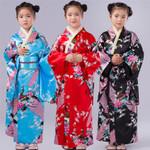 Traditional Costumes Dress with Obi Bathing Robe Kimono