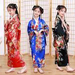 Style Peacock Dress Cosplay  Costume Kimono