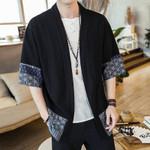 Streetwear shirt sleeveless traditional clothing Kimono