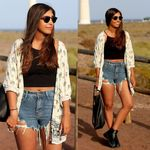Coat Cardigan Casual Half Sleeve Loose Tops Elephant Kimono