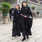 Dragon Embroidery Costume Cosplay Cardigan Traditional Kimono