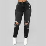 High Wasit Skinny Streetwear Pants Slim Push Up Jeans