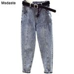 Pants High Waist Pantalon Trousers Streetwear Vintage Jeans