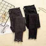 Denim Pants Donna Stretch Bottoms Feminino Skinny Pants Jeans