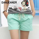 Style Candy Color Elastic With Belt Shorts